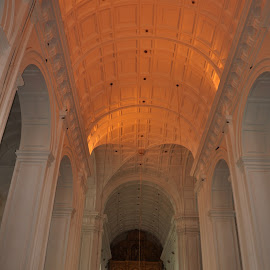 Inside the Se Cathidral by Sambit Bandyopadhyay - Buildings & Architecture Other Interior