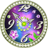 Free Sparkling Gems Watch Faces APK for Windows 8