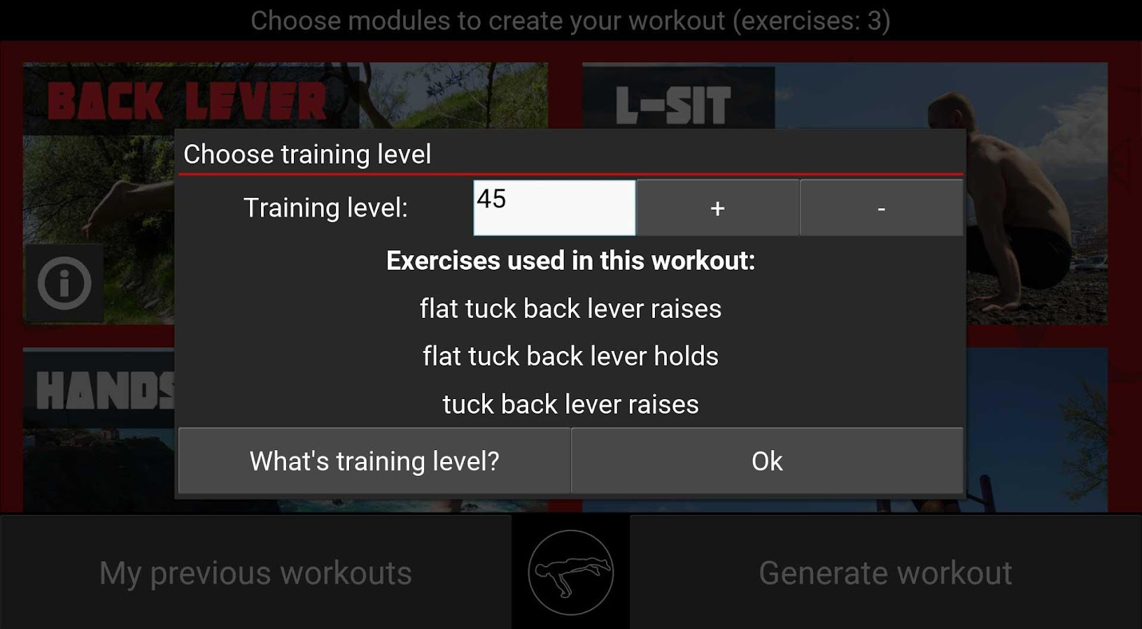 TrainingPal Screenshot 3