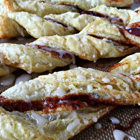 Puff Pastry Cinnamon Twists