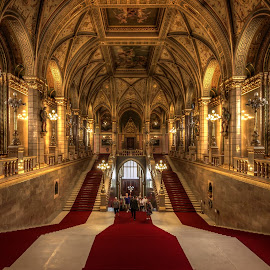 Parliament by Nick Moulds - Buildings & Architecture Public & Historical ( interior, stairs, perspective, architecture, parliamanent )