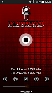 FM Universal 105.9 - screenshot