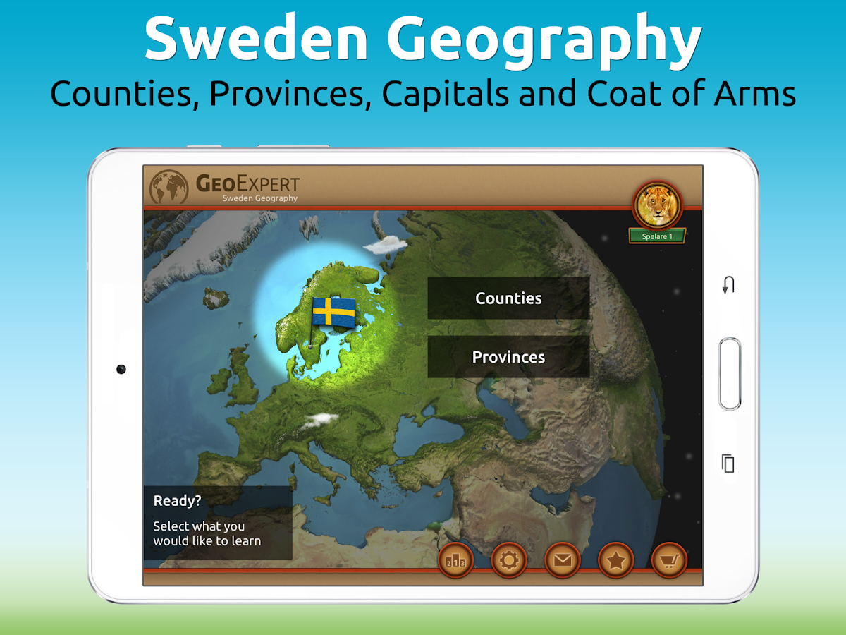 GeoExpert - Sweden Geography Screenshot 10