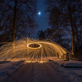 by Kennet Brandt - Abstract Light Painting