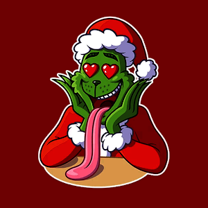 Grinch Christmas Sticker for WhatsApp For PC / Windows 7/8/10 / Mac – Free Download