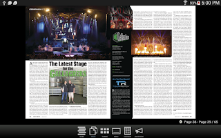 Screenshot of PLSN Magazine