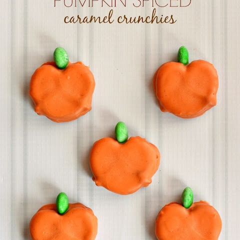 Pumpkin Spiced Caramel Crunchies