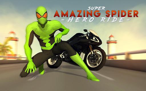 3D Hero Super Spider Rider