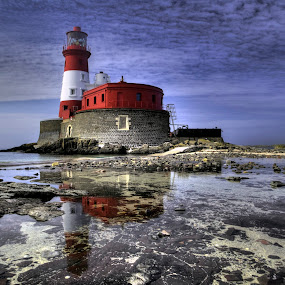 Longstone lighthouse by Keith Britton - Buildings & Architecture Other Exteriors