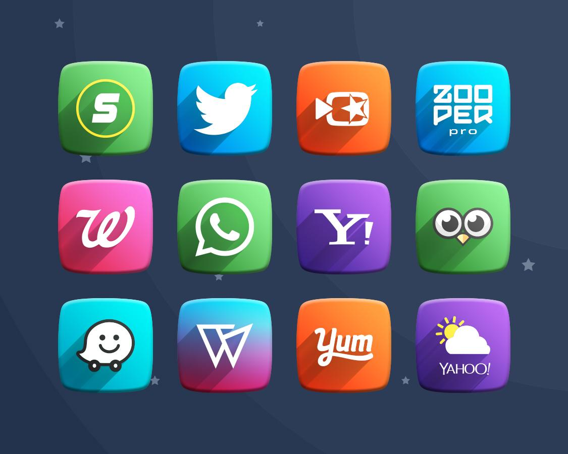 Space Z Icon Pack Theme Screenshot 9