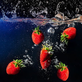 Strawberry by Jovi Photograph - Artistic Objects Other Objects