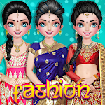 Indian Fashion Wedding & Party Dress-up Icon