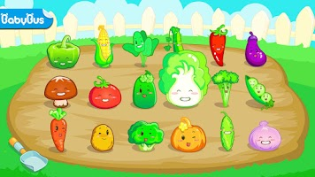 Screenshot of Vegetable Fun by BabyBus
