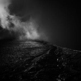 Pen y Fan by Kai Murphy - Landscapes Mountains & Hills ( mountain, cloud )