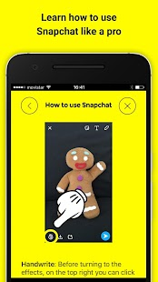 App How to use snapchat 2016 APK for Windows Phone