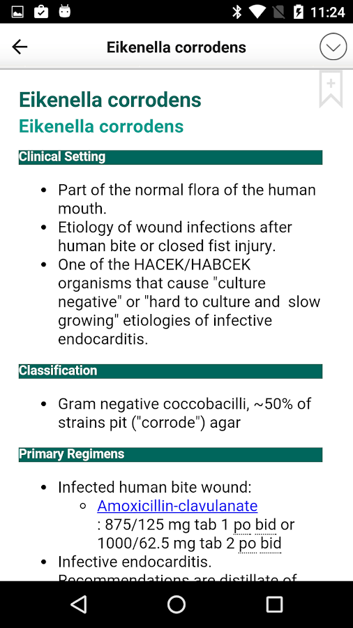 Sanford Guide:Antimicrobial Rx Screenshot 3