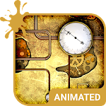 Steampunk Animated Keyboard APK Image