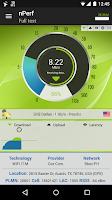 Screenshot of Speed Test & QoS 3G 4G WiFi