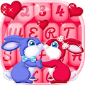 Stylish Keyboard Cute Couple for Lollipop - Android 5.0