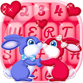 Free Download Stylish Keyboard Cute Couple APK for Samsung