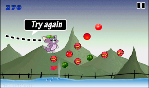 jumping tom cat - screenshot