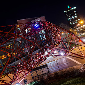 I love Columbus Ohio by Sean Miller - Buildings & Architecture Bridges & Suspended Structures