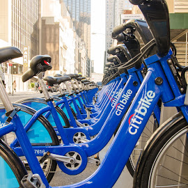 Citibike by Todd Thompson - Transportation Bicycles ( new york city )