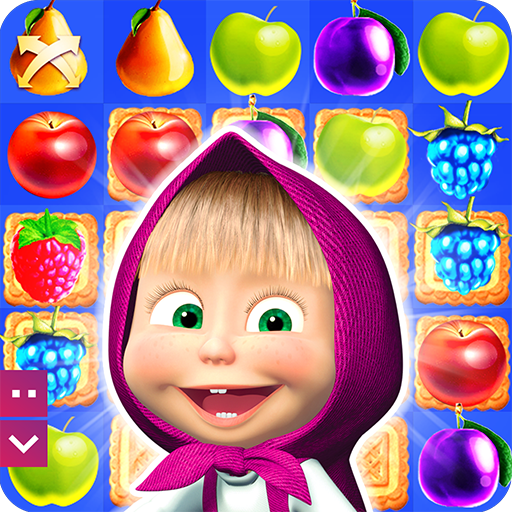 Masha and The Bear Jam Day Match 3 games for kids (game)