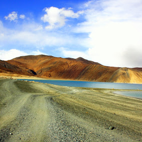 Pangong Tso by Umed Jadeja - Travel Locations Landmarks ( pwclandmarks )