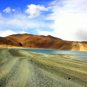 Pangong Tso by Umed Jadeja - Travel Locations Landmarks ( pwclandmarks )