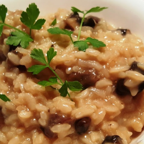 Pressure Cooker Best Mushroom Risotto