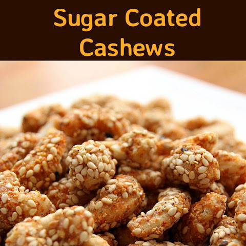 Sesame Sugar Coated Cashews