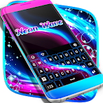 Keyboard Neon Wave 4.181.106.13 Apk