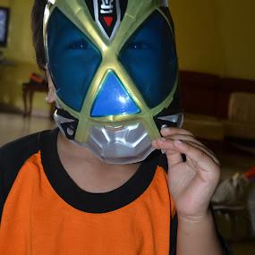 Happily Masked by Nur Huda Diyanah Amir Hamzah - Babies & Children Children Candids