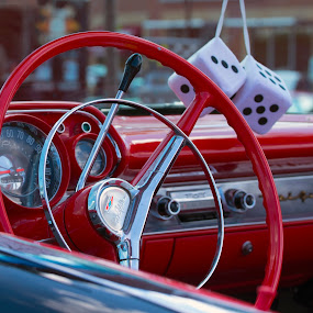 All American Chevy Bel Air Automobile by Sandra Rust - Transportation Automobiles ( all american chevy bel air automobile )