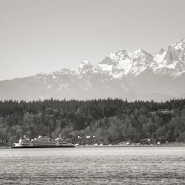 Puget Sound  by Todd Reynolds - Transportation Boats