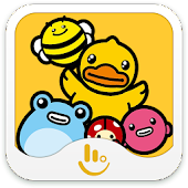 Download B.Duck TouchPal Sticker APK for Laptop