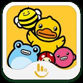 App B.Duck TouchPal Sticker version 2015 APK