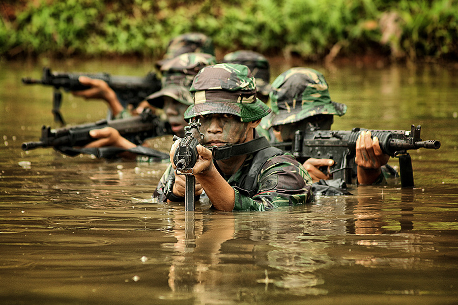 Tour Of Duty by Erwin Kurniawan - People Portraits of Men