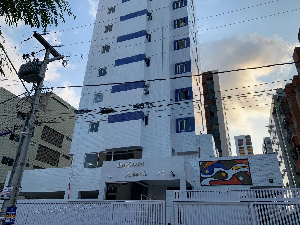 Apartamento com 2 dormitórios para alugar, 90 m² por R$ 1.432/mês - Manaíra - João Pessoa/PB