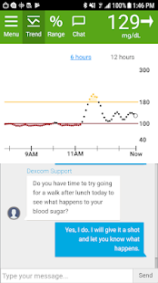Dexcom Glucose Program App for pc