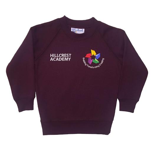Hillcrest Academy Maroon Sweatshirt