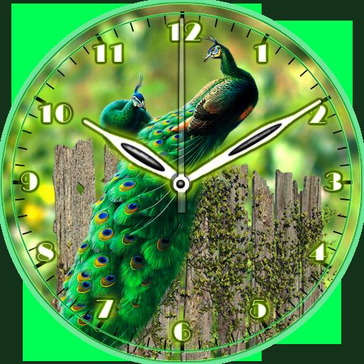 Peacock Clock (app)