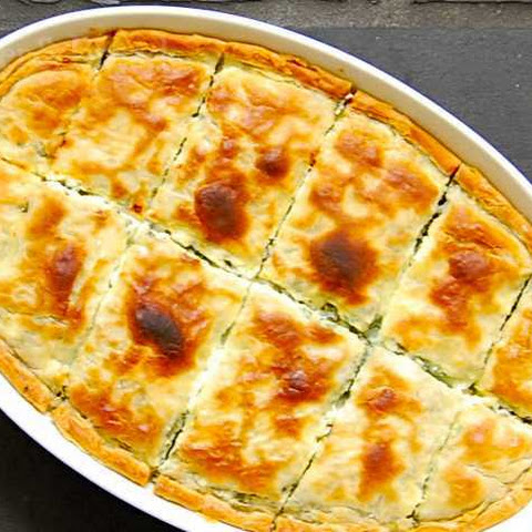 Zeljanica - Spinach and Feta Pie