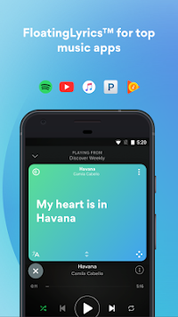 Musixmatch текстови APK screenshot thumbnail 3