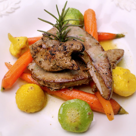 Saute of Lamb's Liver and Baby Veg