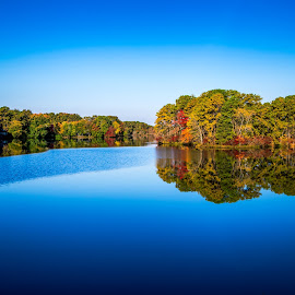 by Alexander DiMauro - Landscapes Waterscapes ( sky, blue, autumn, fall )