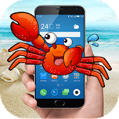 crab in phone joke APK for Bluestacks