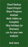 Screenshot of Habit Streak Pro