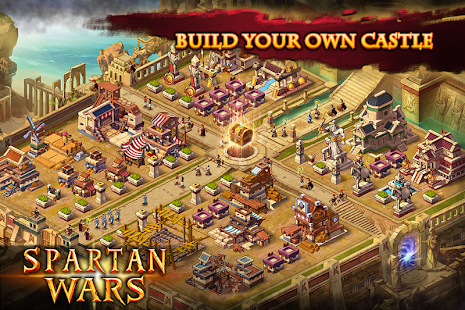 Spartan Wars: Blood and Fire APK Descargar